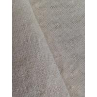 Gray Raw Hemp Organic Cotton Mixing Fabric , Bedding Upholstery Weave Cloth 21 / 3Ne X 10Ne Manufactures
