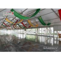 20x50m Catering Tent 1000 People Event Tent Luxury Glass Wall Tent with Glass Door Manufactures