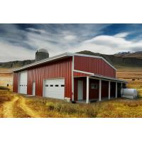 Residential Agricultural Metal Buildings 30'x50'x14′ Customized Design Manufactures