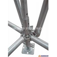 Galvanized Ringlock Scaffolding System , Pin Lock Scaffold Dia 48.3 X 3mm Manufactures