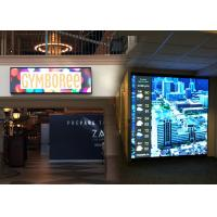 China Foldable Outdoor Advertising Billboard LED Display RGB 300x300 mm With Black Module on sale