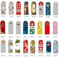 Fashionable manicure Christmas finger nail decoration  stickers Self - adhesive for women Manufactures
