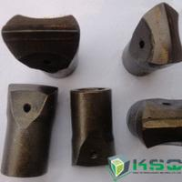 7 Degree Flat Chipways Taper Chisel Bit Apply To Variety Rock Formations Manufactures