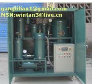 China TYA Zhongneng Vacuum Lubrication Oil Automation Purifier/Hydraulic Oil Filter on sale