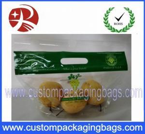 China Gravure Printing Zipper Plastic Fruit Bag Dampproof Plastic Packaging on sale