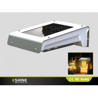 Color Changing Wind Spinner Solar Sensor Wall Light Used For Outdoor Public Area Store Front Manufactures