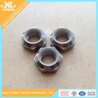 China Best Price For Pure Titanium Nylon Insert Nuts on sale