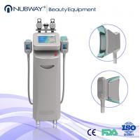 10.4 inch touch color screen 5 handles cryolipolysis liposuction machine on sale Manufactures