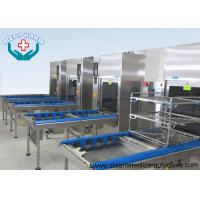 China Horizontal Saturated Steam Lab Steam Autoclave Sterilization With Inner Jacket Thickness No Less Than 6mm on sale