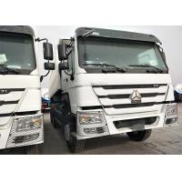LHD / RHD Heavy dump trucks with 12.00R20 , Euro 2 Sinotruk 6x4 Howo Tipper Manufactures