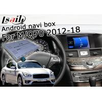 China GPS Navigation Car Multimedia Interface For Infiniti Q70 / M25 M37 Fuga Support Youtube Video Play on sale