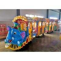 Small Electric Trackless Train Party Train Entertainment CE Approved
