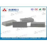 China Welding Cutting Tips Carbide Brazed Tips For Steel Tool Long Working Time on sale