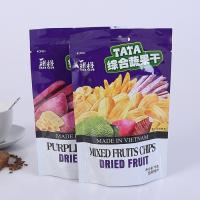 FDA EU Food Grade Plastic Bags , Plastic Reusable Aluminum Foil Zip Lock Bag Manufactures