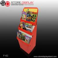 three trays floor display stands with base Manufactures