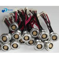 Lemo B Serials Custom Power Supply Cables EGG 0B 1B 2B 6 Pin To Molex Type Manufactures