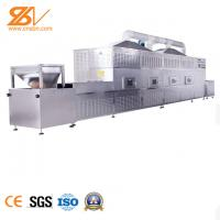 Professional Tunnel Type Microwave Vacuum Drying In The Food Processing Industry Manufactures