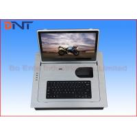 Flush Mounted Computer Monitor Lift , 15.6 Inch  Screen LCD Monitor Lift Manufactures