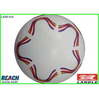 Super Smooth Traditional 32 Panel Soccer Ball Size 5 For Stores / Supermarket Manufactures