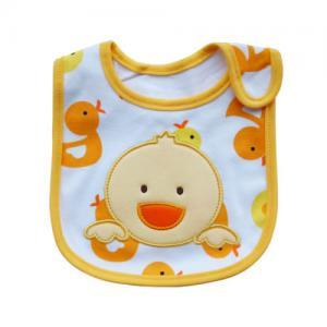 Waterproof Cute Duck Custom Baby Bibs , Saliva Towel Bibs For Toddlers Manufactures