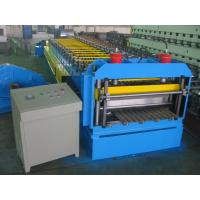 Automatic Metal Glazed Roof Tile Roll Forming Machine Siemens PLC Control for Mexico Market Manufactures