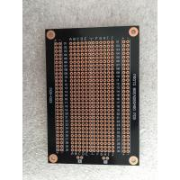Overload Protection Prototyping PCB Board 94 * 64mm Black Fr-4 PCB Breadboard Manufactures