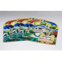 China Walt Disney Saddle Stitch Book Printing Square Brochures With Die Cut on sale
