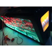 Custom design led display led display for taxi , 3g sifi usb net cable gps controller Manufactures