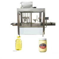 Full Automatic Essential Oil Filling Machine , 220V 1.5kw Olive Oil Filling Machine Manufactures