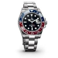 Rolex GMT-Master II Black Automatic stainless steel and 18kt yellow gold Mens Watch116713R Manufactures