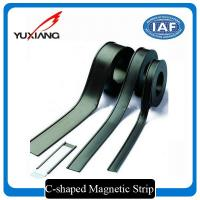 China C Shaped Flexible Magnetic Strips Multi Pole On One Side Magnetization on sale