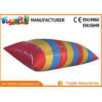 0.9mm PVC tarpaulin Inflatable Water Catapult Blob With Logo Printing Manufactures