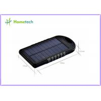 Solar Lipstick Power Bank / Charger External Battery Dual USB Port Manufactures