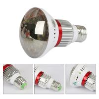 EAZZYDV Wireless  Mini Hidden Bulb Wifi Camera with White LED Light , Motion Dection, Night Vision, view by APP