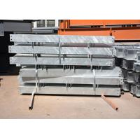 China Customized shop drawing hot dip galvanized structural steel members on sale