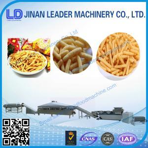 China plc optional  fried wheat flour snacks processing machine on sale