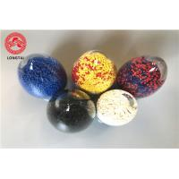 Colorful Rigid Pvc Granules , Flame Retardant Pvc Compound 70℃ Temperature Resistance Manufactures