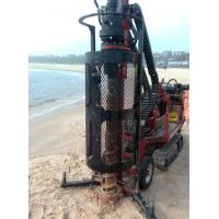 China Portable small core drill rig for soil investigation(SPT test) on sale