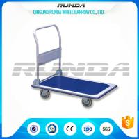 Transportation Hand Truck Dolly Foldable , Platform Hand Truck Roll Container SGS Manufactures