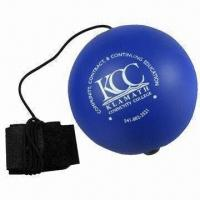 Yoyo Stress Ball Made of Polyurethane Stress Reliever,, Comes in Various Colors Manufactures