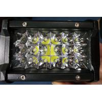 6 Inch 54W  Led Work Lights 12v Trip Row 6500k Multiple Colors Manufactures