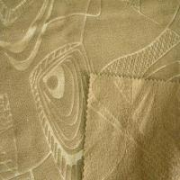 China Embossed polar fleece fabric, made of 100% polyester on sale