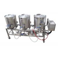 China SUS 304 Or 316 Mini Home Brewery Small Home Brewing Systems Capacity 50 L on sale
