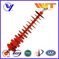 110KV Hang Type Rod Model Red Polymer Suspension Insulators Pin Post Manufactures