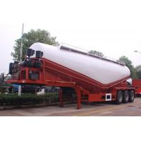 2 Axle 35cbm Cement Tanks Trucks And Trailers For Dry Powder Flour Transportation Manufactures