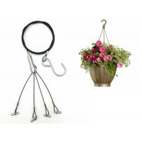 1.5mm Four Foot Steel wire Hanging Kits For Hanging Planters/Flower Pot Manufactures