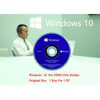English Language PC Computer Software Win 10 Pro 64 Bit Genuine Product Key Full Version Manufactures