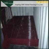 6ft Removable Canada Temporary Fence For Building Sites / Crowd Control Security Manufactures