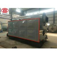 1000kg Biomass Steam Boiler / Water Tube Steam Boiler For Dry Cleaning Machine Manufactures