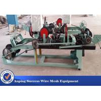 Positive / Negative Twist Barbed Wire Machine With Automatic / High Efficiency Manufactures